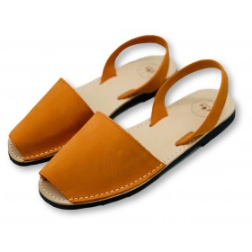 Classic Flat Orange Nubuck
