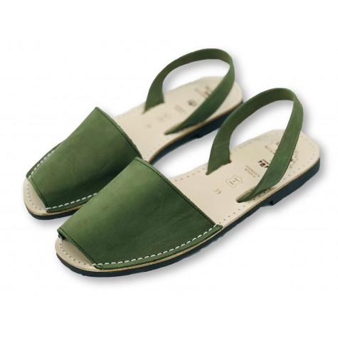 Classic Flat Green Nubuck